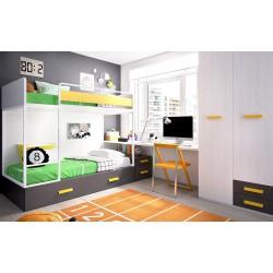 Dormitorio Juvenil F54