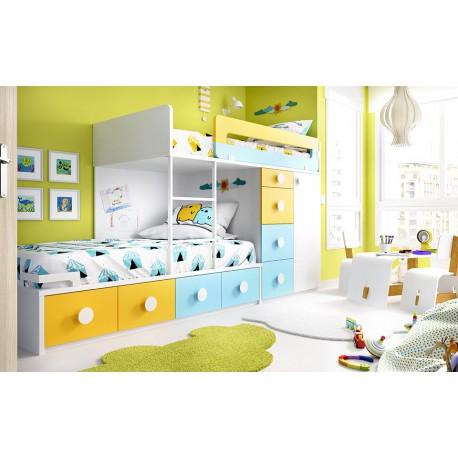 Dormitorio Juvenil F70