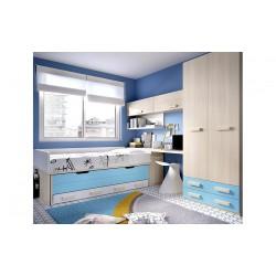 Dormitorio Juvenil H167