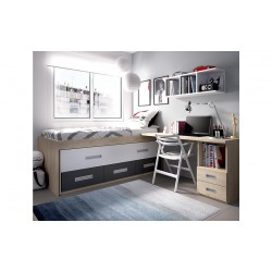 Dormitorio Juvenil H170
